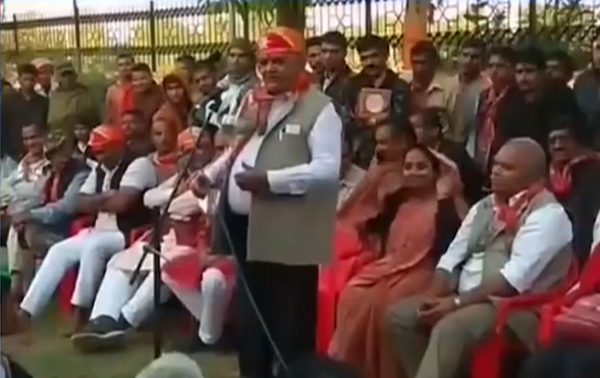 rajasthan bjp leader rakes up controversy says there will soon be a pak in every city