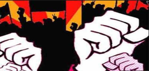 देशभर में ट्रेड यूनियन 2 दिनों की हड़ताल पर, पश्चिम बंगाल में लेफ्ट का प्रदर्शन