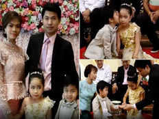 six year old brother and sister twins are married in thailand