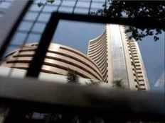 sensex gains nearly 220 points