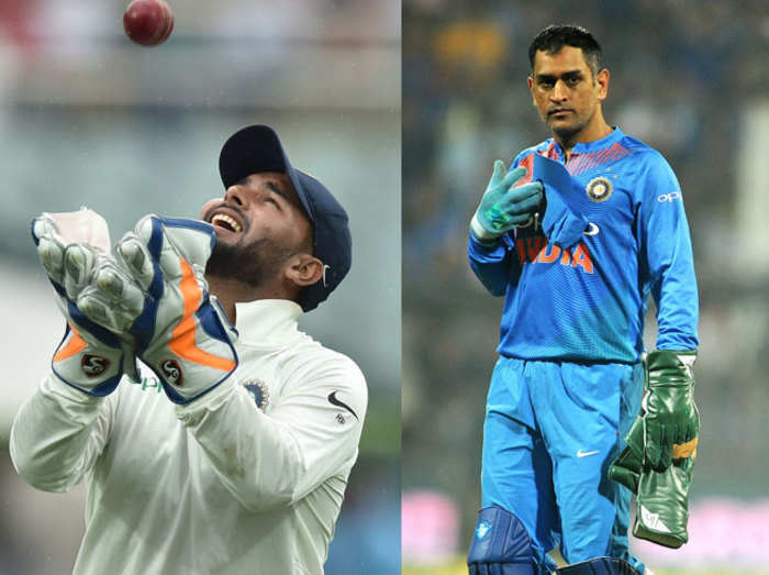 Pant-and-dhoni