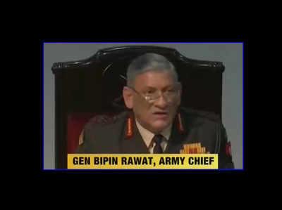 सेना में समलैंगिकता स्वीकार नहीं: जनरल बिपिन रावत