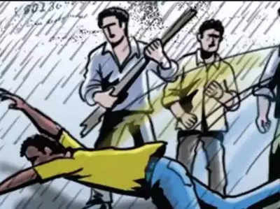 Police Ke Khauf Se Bhaaga Yuvak, Seene Mein Ghusa 15 Inch Ka Chaakoo