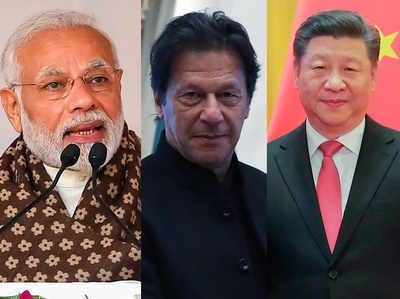 पीएम मोदी, इमरान खान और चीनी राष्ट्रपति (फाइल)