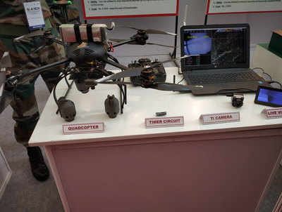 Army Javaan Khud Kar Rahe Hain Inoveshan, Banaaya Grenade Feinkane Wala Drone