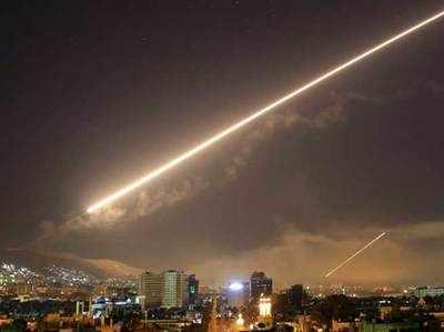 Ijaraayali Yuddhak Vimaanon Ne Damishk Havaai Adde Mein Ek Godaam Ko Nishaana Banaaya Syria