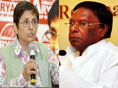 Pongal Par Gift Kiran Bedi Ne Jataaya Aitaraaj, CM Ne Di Gambhir Parinaam Bhugatne Ki Chetaavani