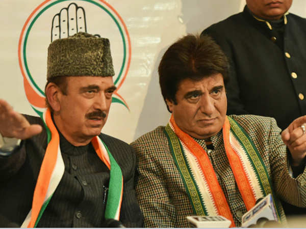 congress to contest all 80 lok sabha seats in up on its own ghulam nabi azad