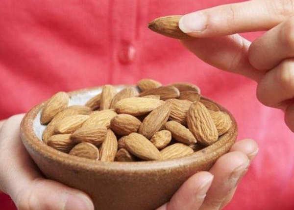 बादाम (almonds)