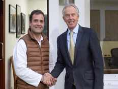 did tony blair say future of india is safe in rahuls hands