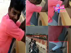 chennai teenager hangs precariously on the wheel of a speeding bus video goes viral