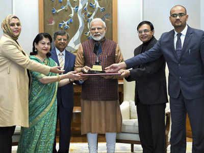 Prejideinshal Award Milne Par Phillip Kotalar Ne PM Modi Ko Di Badhaai