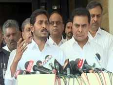 ys jagan talks with media after discussing federal front with ktr