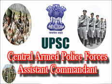 upsc capf 2019 notification released apply for assistant commandant posts at official website