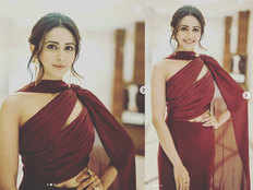 take fashion cues from actress rakulpreets which is simple yet stylish