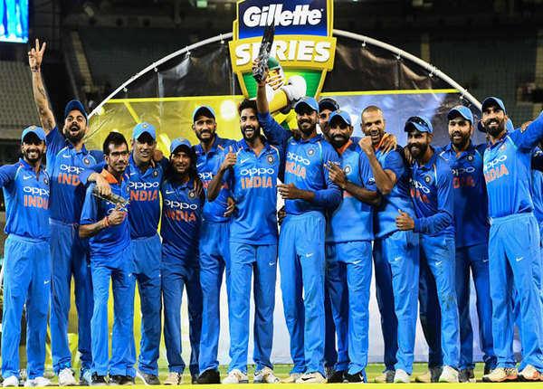 भारत ने ऑस्ट्रेलिया से जीती वनडे सीरीज, टि्वटर पर बरसी शाबाशी