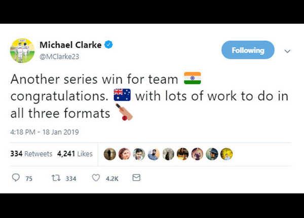 ऑस्ट्रेलिया को सभी फॉर्मेट में मेहनत की जरूरत: क्लार्क