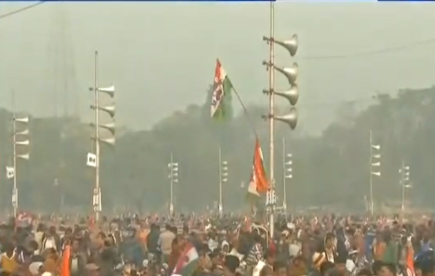 BJP ने ममता बनर्जी की कोलकाता मेगा-रैली को कहा 'अपवित्र गठबंधन का शो'