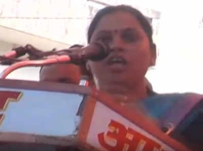 BJP की महिला विधायक का मायावती के खिलाफ विवादित बयान