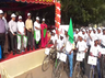 vellore cycle awareness rally demanding to awarness of using petroleum products