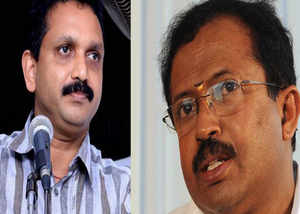 leaders v muraleedharan and k surendran were not participated in bjp protest last day programme