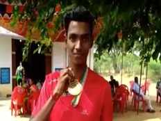 in long jump competition ariyalur arvind got a gold medal