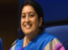 smriti irani said indian textiles would soon get its own country specific apparel size
