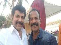 major ravi and mammootty team up for an action thriller movie