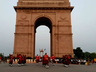 hoax call bomb scare at india gate