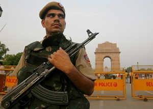 inputs of terrorist presence in delhi and nearby areas police on alert