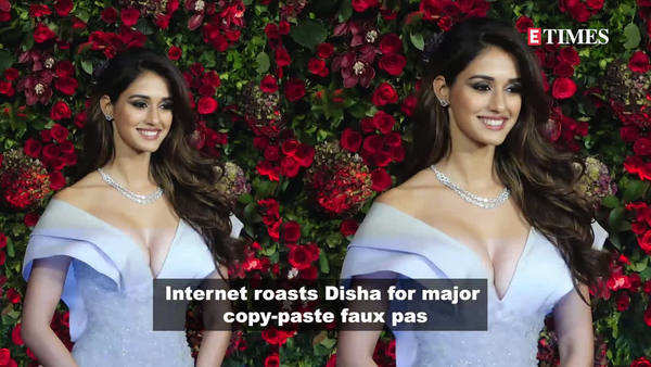 disha patani gets brutally trolled over her copy paste error
