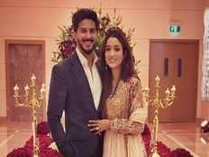 latest pics of actor dulquer salmaan and his wife amal sufiya