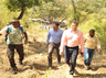 dindigul district collector staff trek 14km to give welfares to tribals