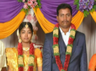 relatives protest for newly married girl suicide in vellore