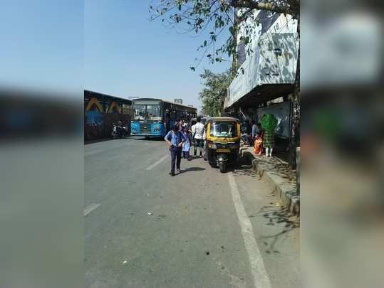 Auto rikshawstandson pmt stand