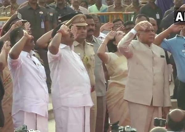 तमिलनाडु में गणतंत्र दिवस समारोह
