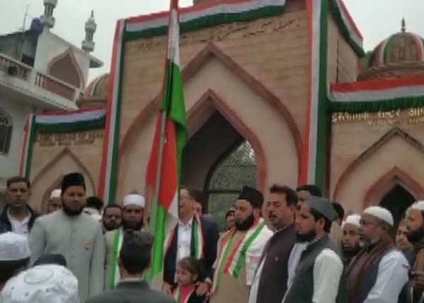 मदरसे में मनाया गया गणतंत्र दिवस