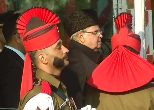 जम्मू-कश्मीर में गणतंत्र दिवस