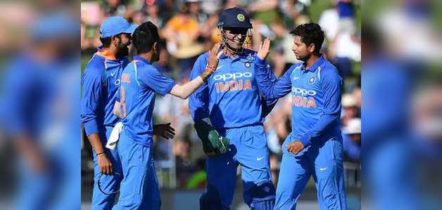 IND vs NZ दूसरा वनडे: भारत ने न्यू जीलैंड को 90 रनों से हराया, रोहित, शिखर और कुलदीप छाए