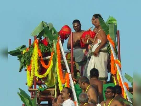 கன்னியாகுமரி திருப்பதி கோயில் கும்பாபிஷேகம் கோலாகலம்!
