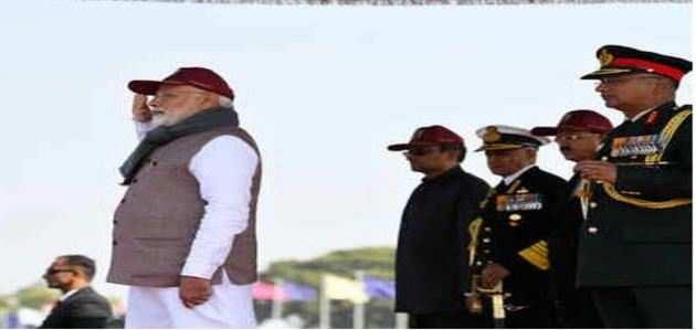 देश की सुरक्षा के लिए कठोर कदम उठाने से नहीं चूकेंगे: पीएम मोदी