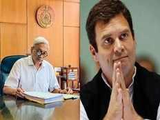 congress president rahul gandhi meets manohar parrikar in goa