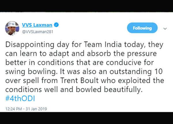 यहां से सीखे टीम इंडिया: वीवीएस लक्ष्मण