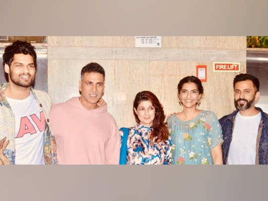 अक्षय कुमार ने देखी फिल्म