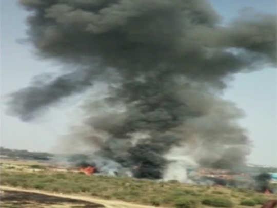 plane crashes : मिराज कोसळले, २ पायलट ठार