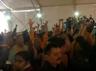 ruckus ensued during the speech of rss chief mohan bhagwat in dharm sansad for ram mandir