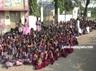 villupuram govt school students protest