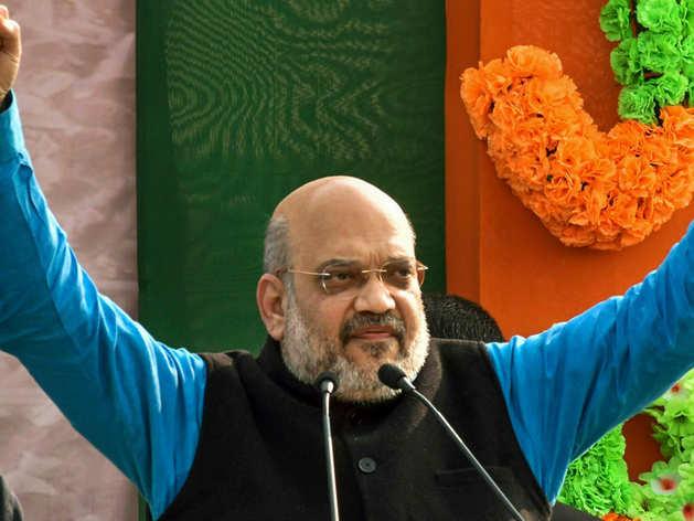 भाजपा अध्यक्ष अमित शाह ने पूछा- सभी पार्टियां राम मंदिर पर करें अपना रुख साफ़