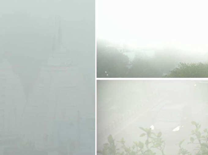 देखें, दिल्ली-एनसीआर में छाया कोहरा, विजिबिलिटी न के बराबर