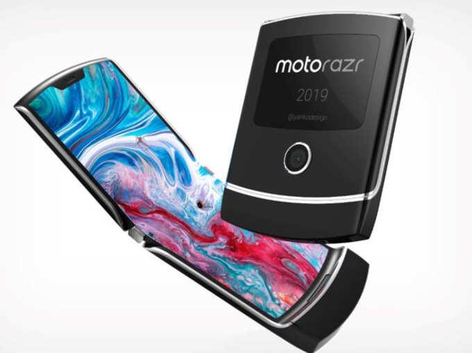 जबरदस्त डिजाइन के साथ आएगा Moto RAZR 2019